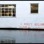 UK artist Banksy on Global Warming Sceptics